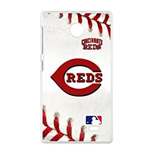 baseball reds Phone Case for Nokia Lumia X