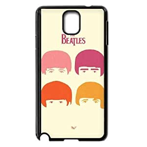 The Beatles Image On The Samsung Galaxy Note 3 Black Cell Phone Case AMW897695