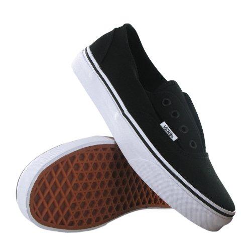 Furgonetas Unisex zapatos del patín Era sin cordones zapatillas de deporte de la lona