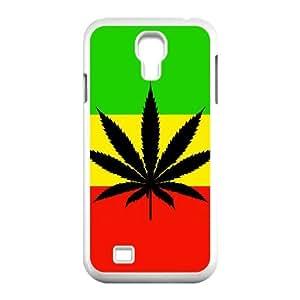 Samsung Galaxy S4 I9500 Phone Case for Marijuana Leaf grass Classic theme pattern design GMJLGCT876267