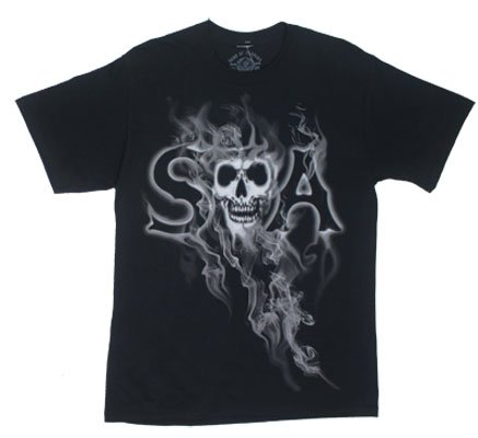 Sons Of Anarchy Smoky Reaper Reaper Samcro Adult T Shirt L