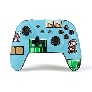 PowerA Enhanced Wireless Controller for Nintendo Switch - Super Mario Bros. 3