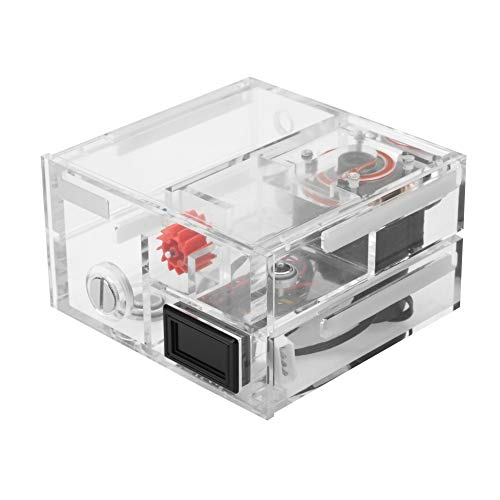 ASHATA Water Cooling kit, PC Water Cooling Integrated Mute Water Pump + Water Tank + Thermometer,Acrylic CPU Water Block +Water Cooling Pump