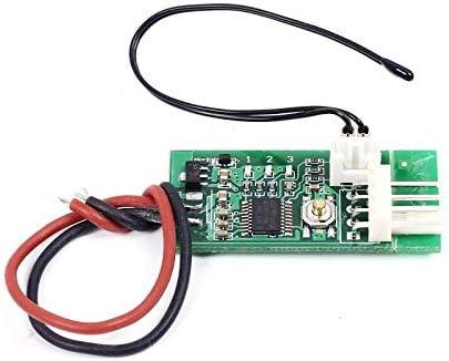 PWM controlador de temperatura, controlador de ventilador, DC 12 V ...
