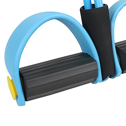 Darhoo Pedal Resistance Loop Bands Available for Shaping Muscles Arms Buttocks Legs and Back Home Portable Outdoor and Gym Strength Training Equipment