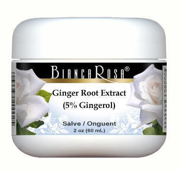 Ginger Root Extract (5% Gingerol) - Salve Ointment (2 oz, ZIN: 514361) - 3 Pack by Bianca Rosa
