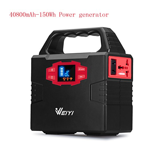 weiyi-portable-power-station-power-inverter-generator-gas-free-with-outputs-ac-110v-max-151wh-2usb-3