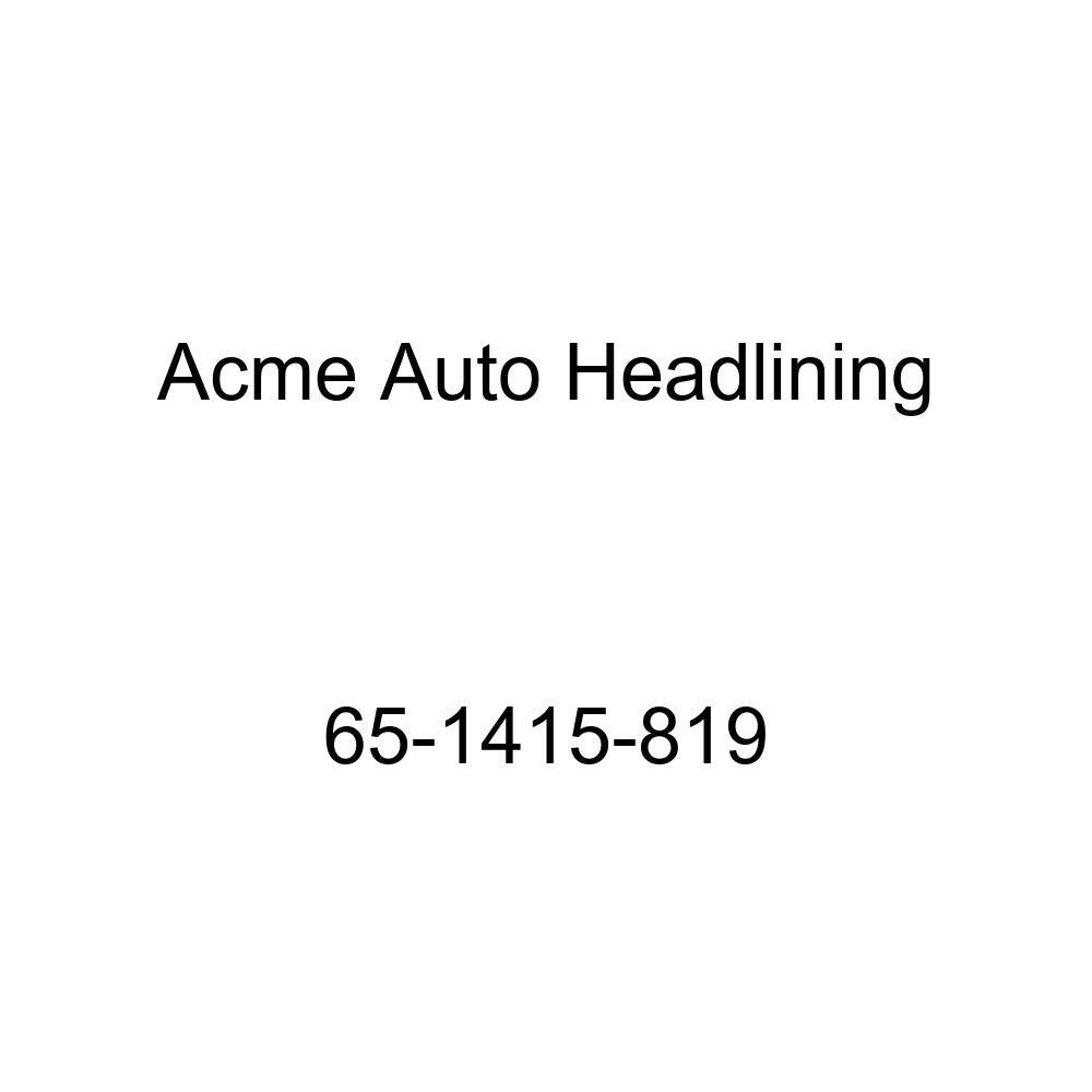Chevrolet Impala 4 Door Hardtop 5 Bow Acme Auto Headlining 65-1415-819 Light Green Replacement Headliner