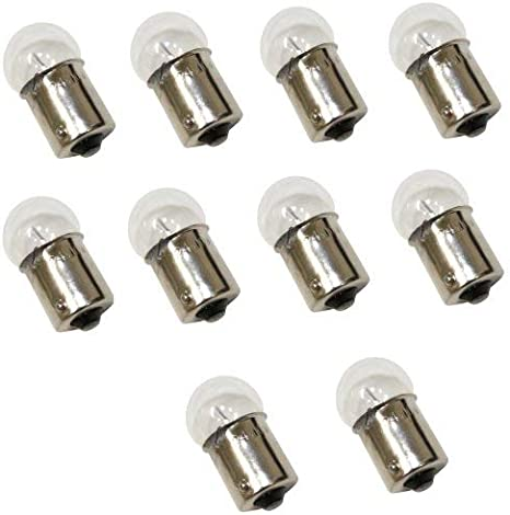 AERZETIX: Juego de 10 bombillas R10W 24V 10W para camión, remolque, semirremolque C1689