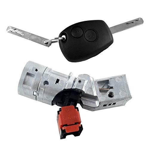 Barrel Key Lock Switch,Car Ignition Switch Lock Barrel with Key: