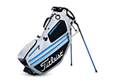 Titleist Hybrid 14 Stand Bag 2019 Silver/Black/Process Blue