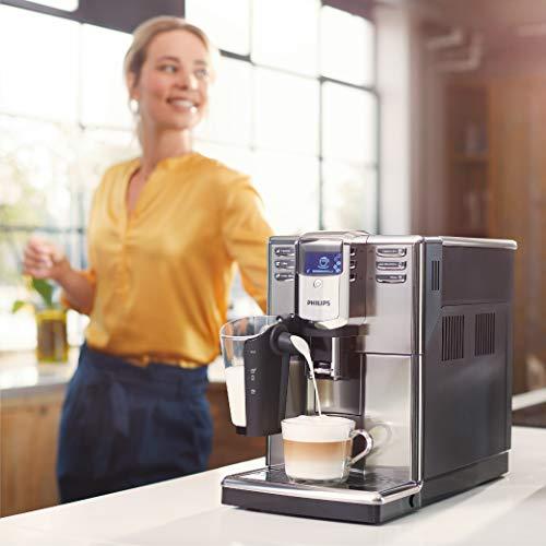 Philips Serie 5000 Latte Go EP5360/10 - Cafetera Súper Automática, 6 Bebidas de Café, Jarra de Leche Latte Go Muy Facil de Limpiar, Limpieza Automatica, ...