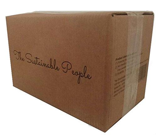 TSP Bolsa de basura biológica 30 litros – 70 Segura, reissfeste bolsas de residuos – OK Compost Home certificada – 100% de hogar Compostable y ...