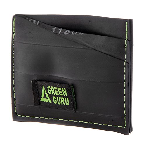 Green Guru Gear Bike Tube Upcycled Made in USA Card Wallet