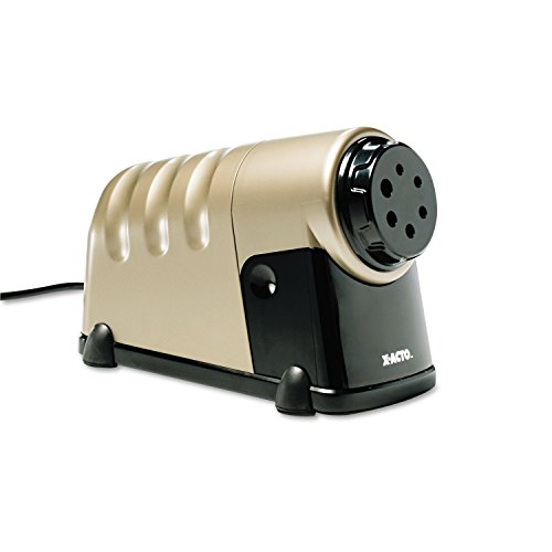 5.5 W x 7.5 H x 11.5 L High-volume Commercial Beige Electric Pencil Sharpener, Beige by Generic