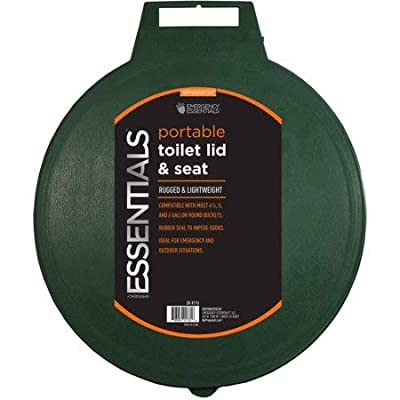 Tote-able Toilet Seat and Lid