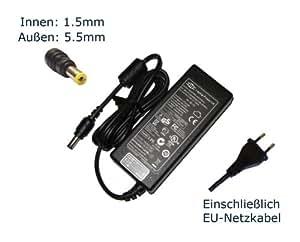 """Fuente de alimentación para Acer Extensa 5635Z - 452G32N 5635Z - 454G32N 5635ZG - 443G50N cargador LCDs, cargador, Adaptador de CA, de alimentación (12 meses de garantía, de conexión con clavija europea-cable) - """"de alimentación"""" europeo"""