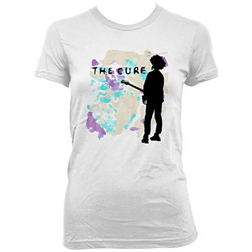 The Cure - Boys Don't Cry - Juniors T-Shirt - Medium White