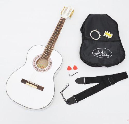 ts-ideen - Guitarra acústica de concierto (3/4, infantil, para ...