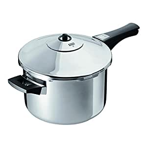 Kuhn Rikon Stainless-Steel Pressure Cooker, 7 qt