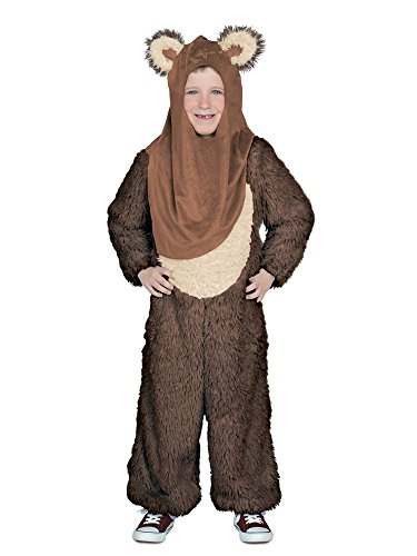 Princess Paradise Boys' Classic Star Wars Premium Wicket Jumpsuit, Brown, X-Small for $<!--$15.65-->