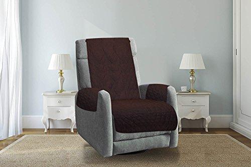 Furniture Protectors Reversible The Original Sofa Protect Premium Chocolate/Tan (Recliner) - Sand Microfiber Sofa