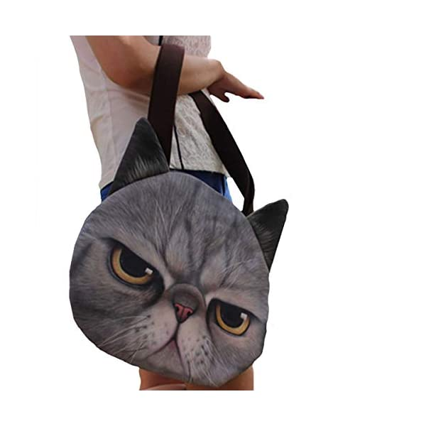 Cat-Face-Tote-Bag