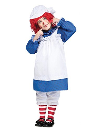 Morris Costumes Raggedy Ann Toddler 1 To 2 -