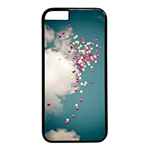 Balloons In the Sky Theme Case for iPhone 5s PC Material Black