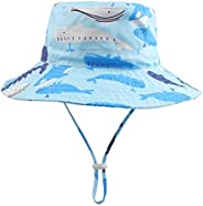 BAVST Baby Boys Sun Hat Girls Floppy Bucket Hat Summer Toddler Outdoor Cap for Swim Beach