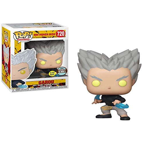 Funko Pop! Animacion One Punch Man- Garou Fluyendo Agua (TRL) (GITD) Serie Especialidad Edicion Limitada Exclusiva