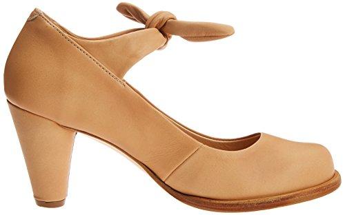 Marr Tobillo Zapatos Tacon y Suave Beba de S938 Correa Wood Mujer para con Neosens IHgOvv