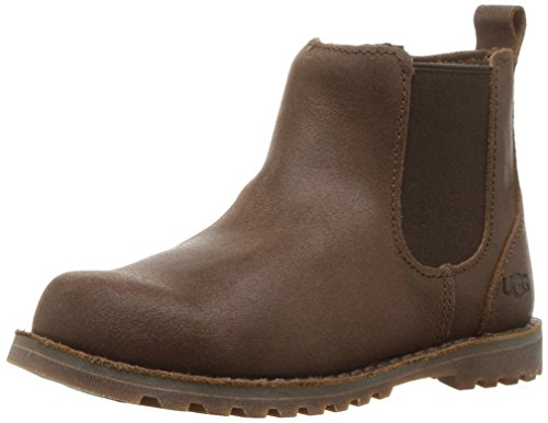 UGG Unisex T Callum Chelsea Boot, Chocolate, 12 M US Little Kid]()