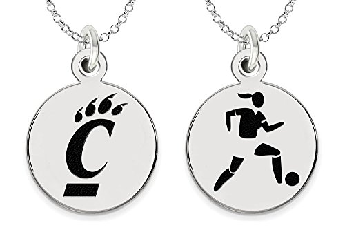 Cincinnati Bearcats Women's Soccer Charm by College Jewelry