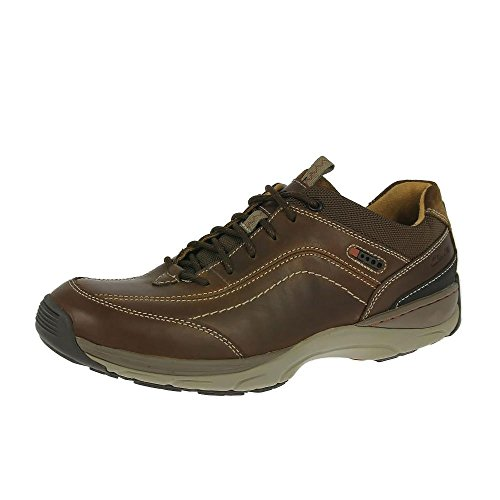 Clarks Mens Skyward Vibe Shoes Brown Leather UK7 Brown