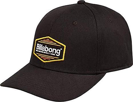 Billabong Cubierto Gorra Elástica en Todas las Negro: Amazon.es ...