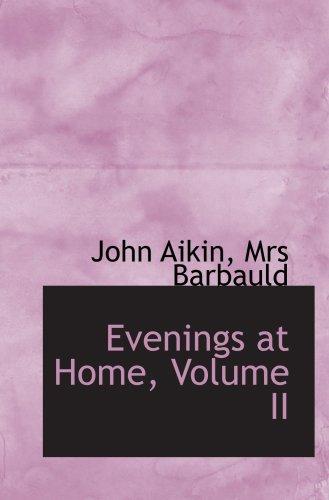 Evenings at Home, Volume II pdf epub