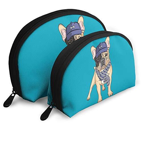 Child Goods French Bulldog Multi-Functional Portable Bags Clutch -
