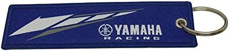 [해외]Nice Tagg 1개 블루 색상 야마하 태그 키체인 오토바이 슈퍼바이크 액세서리 스포티 선물 / Nice Tagg 1pcs Blue Color Yamaha Tag Keychain Motorcycle Superbike Accessories Sporty Gifts