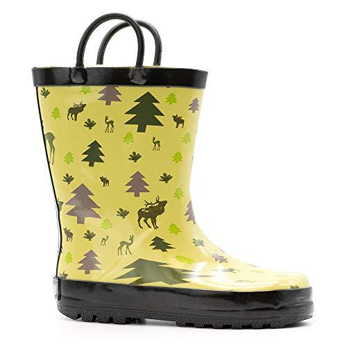 - Mucky Wear Children's Rubber Rain Boot, Wildlife, 6T US Toddler