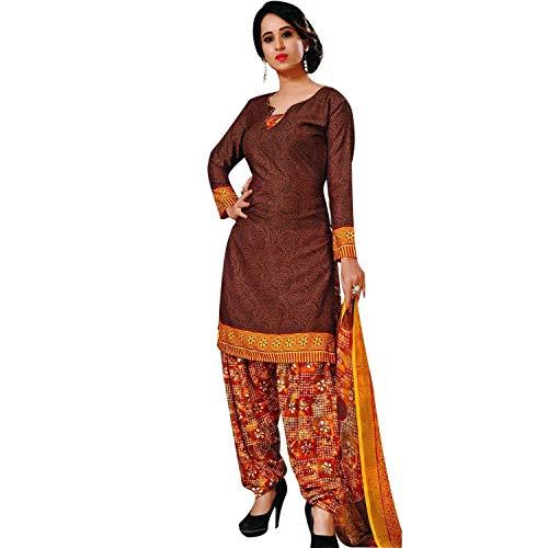 Beautiful Readymade French Crepe Printed Salwar Kameez Suit Indian