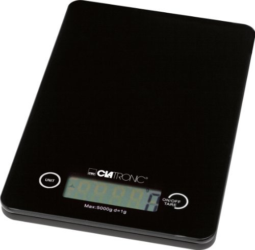 Clatronic-KW-3366-Kitchen-Scales-5-Kg-LCD-Display-by-Clatronic