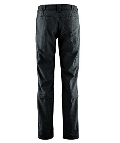 Donna Nero Fulda maier Black Pantaloni convertibili sports 1wq6vtg