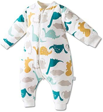 Saco de dormir para bebé unisex 1-3 años de invierno manga larga ...