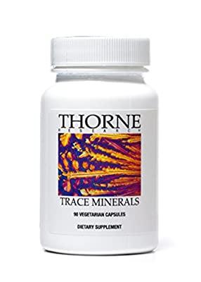 Thorne Research - Trace Minerals - Complex Trace Mineral Complex - 90 Capsules