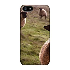 New Sheep Wds Tpu Case Cover, Anti-scratch NJFWtjB7103cOvKH Phone Case For Iphone 5/5s by lolosakes