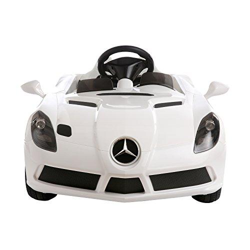 Aosom 12v mercedes benz slr convertible kids electric ride for Mercedes benz kids 12 volt electric car