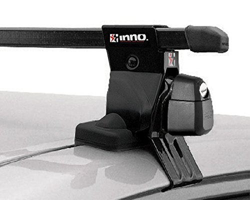 INNO Rack 2001-2005 Honda Civic 4dr Roof Rack System INSUT/INB117/K190 (Honda Civic 4dr Cross)
