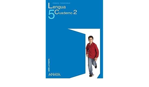 Lengua 5. Cuaderno 2.: María Isabel Fuentes Zaragoza: 9788466779012: Amazon.com: Books