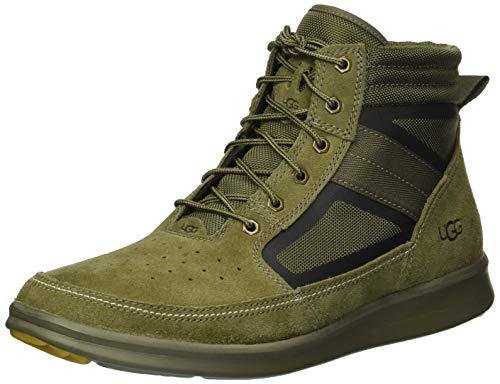 (UGG Men's Hepner Field Boot Sneaker, Moss Green, 11 Medium US)
